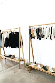 hanging clothes rack diy u2013 gosate co