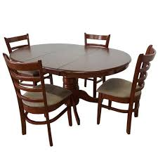 extension dining table and chairs by designs bennett 4 seater extendable dining table set reviews