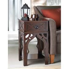 zingz u0026 thingz moroccan style end table u0026 reviews wayfair