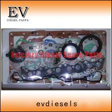 for isuzu diesel engine c240 full engine gasket kit piston ring