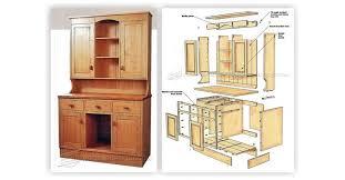 kitchen stunning kitchen hutch plans 2945 dresser f kitchen