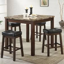 Home Bar Table Best Pub Style Table Sets Kitchen Bar Table Stool Sets Natural
