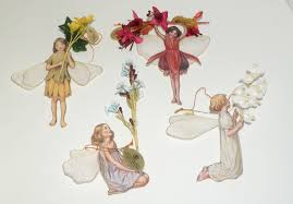 4 porcelain flower fairies ornaments bradford exchange 5th edition