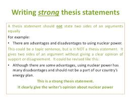 e3 m4 4 strong thesis statements