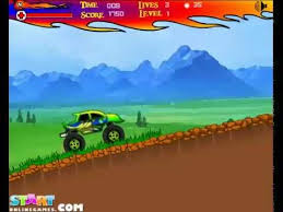 monster truck games urban monster truck