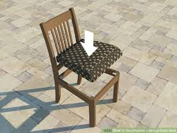 Dining Chair Seats How To Reupholster A Dining Chair Seat 14 Steps With Pictures