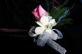 White Orchid Corsage 64 Pink Rose White Orchid Corsage Dawn U0027s Creations