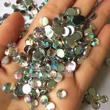 aliexpress com buy 2mm 12mm clear crystal and crystal ab flat