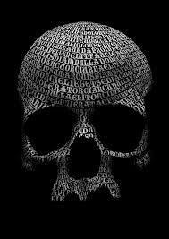 halloween phtoshop background create a creepy skull out of type in photoshop photoshop