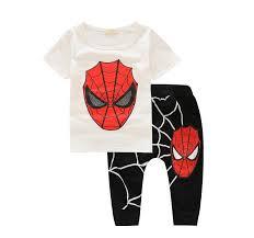 aliexpress com buy children clothing set spiderman baby boys kid