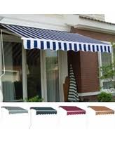 Deck Awning Bargains On Ktaxon Patio Retractable Awning Sunshade Outdoor Deck