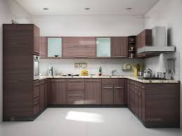 interior kitchen design photos the purple wall cabinets of this u shaped kitchen are the