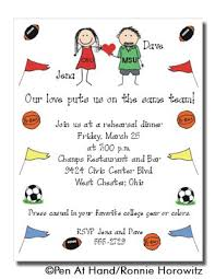 sports party personalized party invitations by the personal note