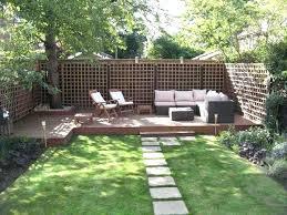 Backyard Idea Best Small Backyard Ideas Gray Seating Set Diy Small Backyard
