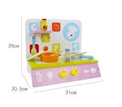cuisine jouet en gros enfants en bois mini cuisine jouet jeu de rôle bébé en