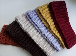 crochet headbands ribbed crochet headband free pattern crocheted headbands
