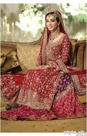 wedding dress in pakistan bridal gharara designs 2017 in pakistan