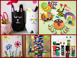 45 easy recycled crafts ideas for kids youtube