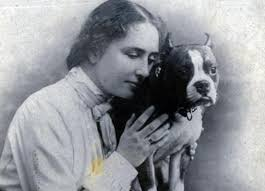 How Old Was Helen Keller When She Became Blind Helen Keller A Life With Dogs Perkins For The Blind