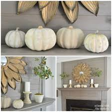 Rustic Mantel Decor Welcome Fall Home Tour At Home With The Barkers