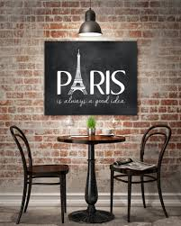 french inspired decorating tips parisian chic susan newberry mock up poster with retro cafe restaurant interior background