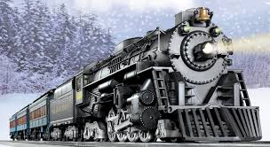railways clipart polar express train pencil and in color