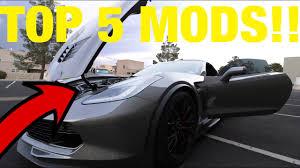 2014 corvette mods top 5 modifications for your c7 corvette z06