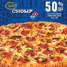 jobs at domino s pizza 50 off online order domino s pizza it s gator appreciation week get 50 off