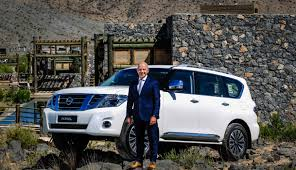 nissan patrol platinum nissan u0027s 2017 patrol makes global debut in the middle east with a