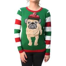 3d sweater sweater s 3d pug beanie pullover