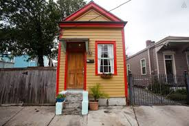 Shotgun House Plan by Tiny Shotgun Cottage In New Orleans Small House Bliss