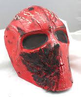 Cool Mask Cool Fiberglass Resin Mesh Eye Airsoft Paintball Full Face