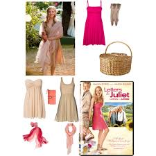 sophie letters to juliet polyvore