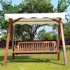 3 seater wooden garden swing chair u2013 the uk u0027s no 1 garden