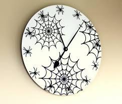 Diy Halloween Wall Decorations Diy Halloween Wall Clock Shelterness