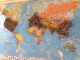 travel world map maps update 800600 travel world map with pins maps