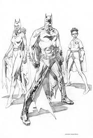 batman batgirl robin coloring google