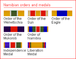 orders decorations and medals of namibia