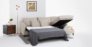 Best Sofa Bed Mattress Replacement by Bari Corner Storage Sofabed Right Hand Facing Malva Linen Made Com