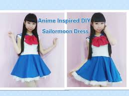 anime inspired kawaii diy how to make sailormoon usagi dress