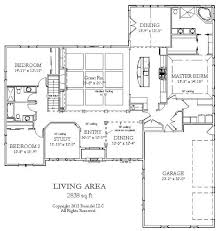 One Story Open House Plans One Story Luxury Floor Plans