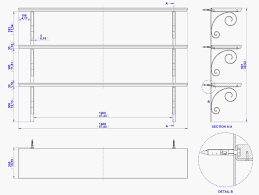 Free Wooden Shelf Bracket Plans by Wall Shelf Maria Plan