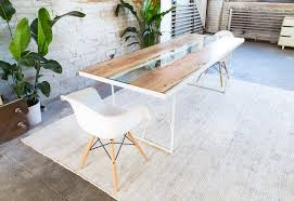 Living Edge Dining Table Yoshi Live Edge Dining Table