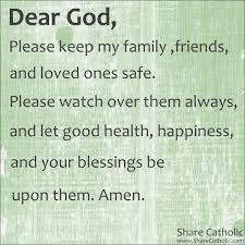 prayer for my family and