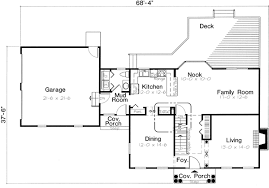 colonial house floor plan house plan 24753 at familyhomeplans com