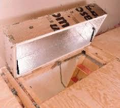 latch for pull down attic door