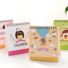 mini desk calendar 2017 new 2018 cute and animal calendars mini table calendars desk