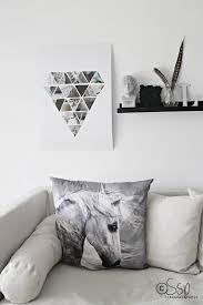 Diy Magazine Wall Art by Diy Geometric Wall Hanging Using Magazines Photos Scrap Paper