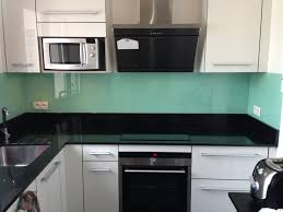 crédence verre trempé cuisine credence cuisine verre trempe 8 de en laque blanc perle cr dence