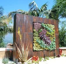 backyard wall decor outdoor wall art frame collage fences decor